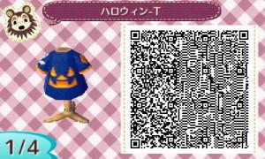 ハロウィンTシャツ01 - とび森