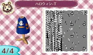 ハロウィンTシャツ04- とび森
