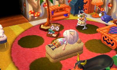 いなほのベッド:配信プレゼント -  04 -とび森