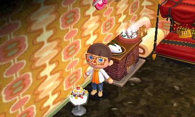 かきごおりのランプ:配信プレゼント -  05 - とびだせどうぶつの森 amiibo+