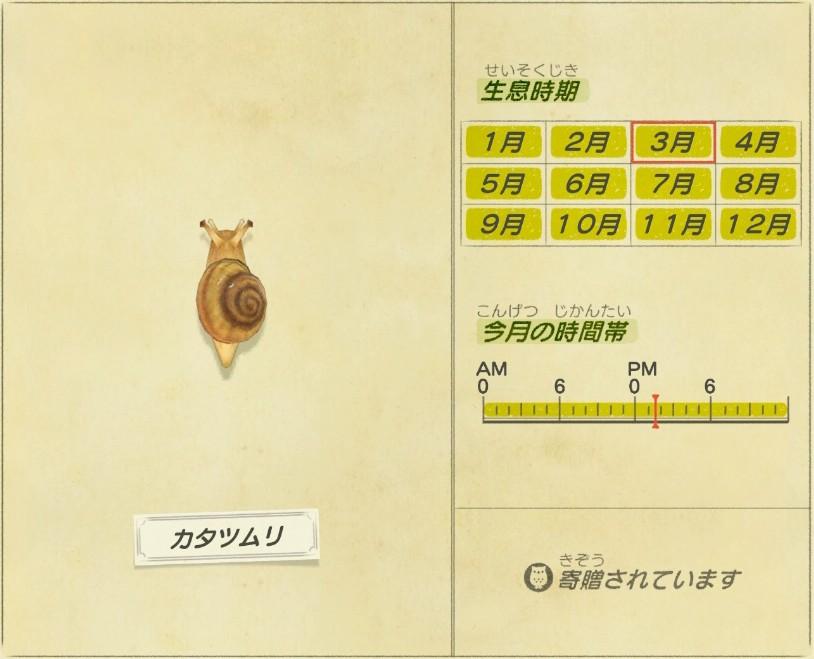 Katatsumuri - Snails