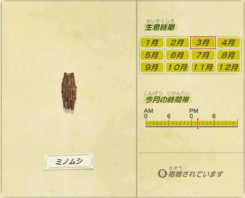 Mino mushi - Bag worm