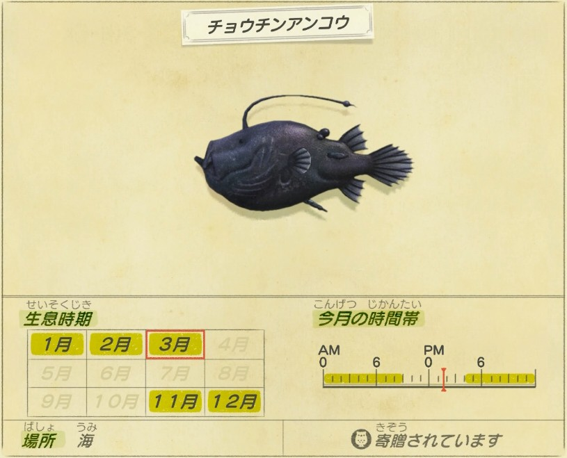 Chouchin ankou - Angler fish