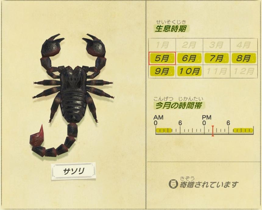 サソリ - scorpion