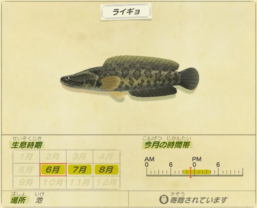 raigyo - Snakehead