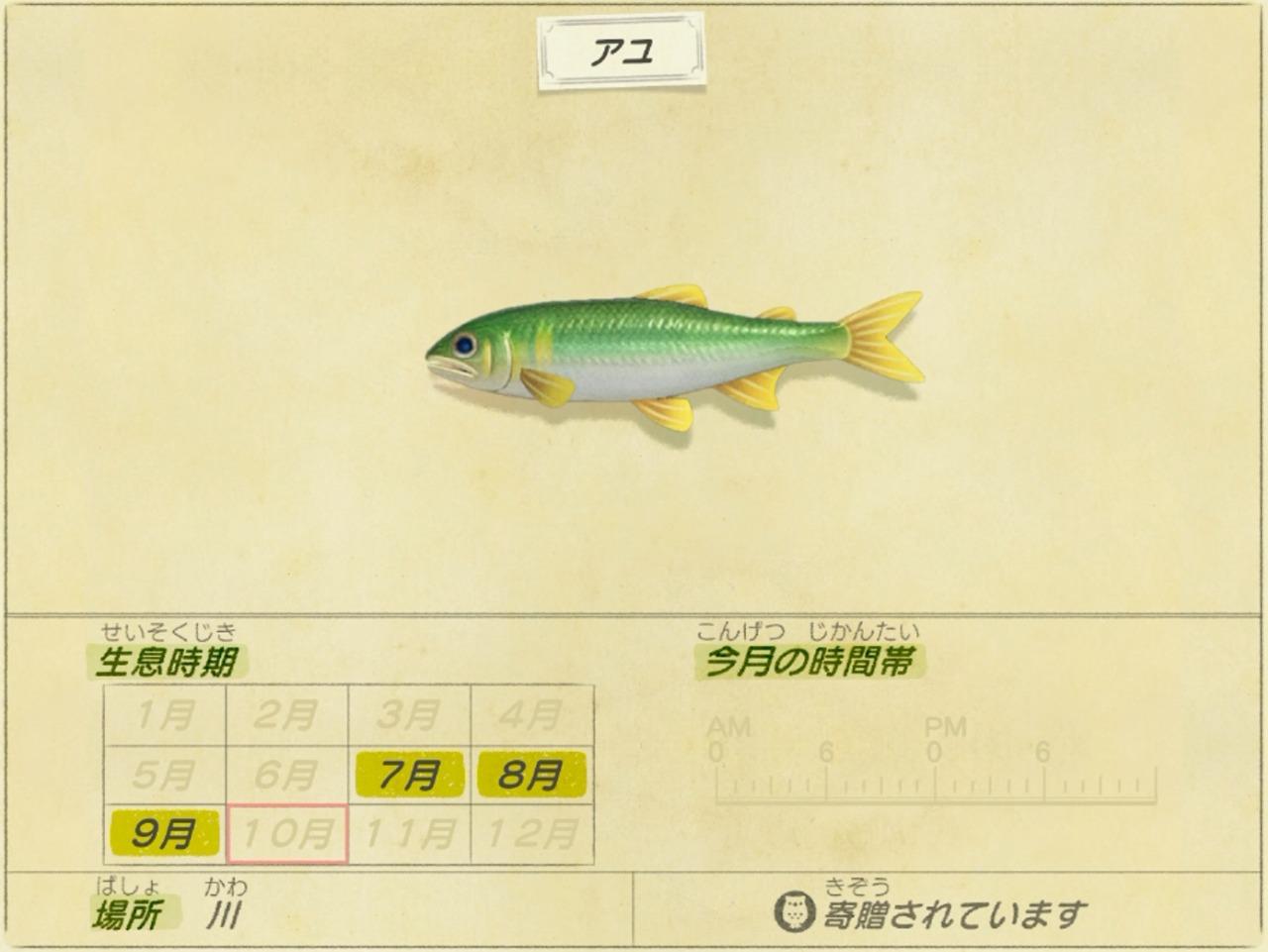 アユ - sweetfish